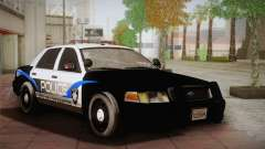 Ford Crown Victoria Police Interceptor 2009 для GTA San Andreas