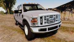 Ford F-250 Super Duty Police Unmarked [ELS]