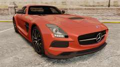 Mercedes-Benz SLS 2014 AMG Black Series купе для GTA 4