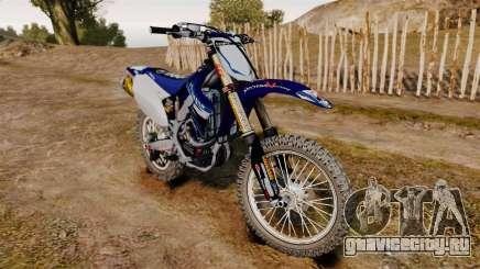 Kawasaki KX250F (Yamaha) для GTA 4