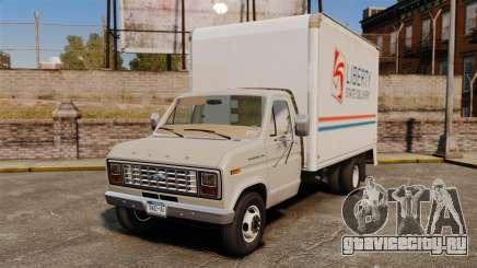 Ford E-350 1988 cube truck для GTA 4