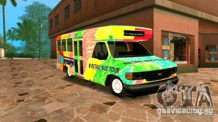Ford E350 Shuttle Bus для GTA San Andreas