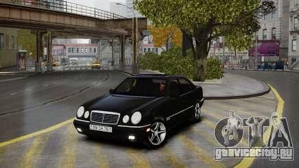 Mercedes-Benz E280 Beta для GTA 4