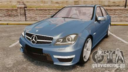 Mercedes-Benz C63 AMG 2013 для GTA 4