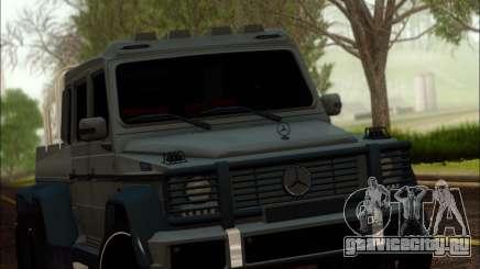 Mercedes-Benz G63 AMG 6x6 для GTA San Andreas