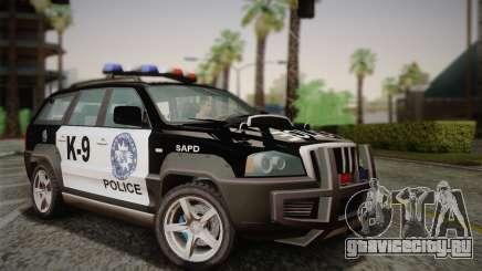 NFS Suv Rhino Heavy - Police car 2004 для GTA San Andreas