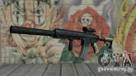 M416 with ACOG sight and silenced для GTA San Andreas