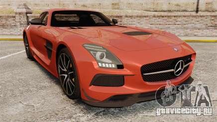 Mercedes-Benz SLS 2014 AMG Black Series купе для GTA 4