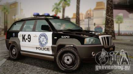 NFS Suv Rhino Light - Police car 2004 для GTA San Andreas
