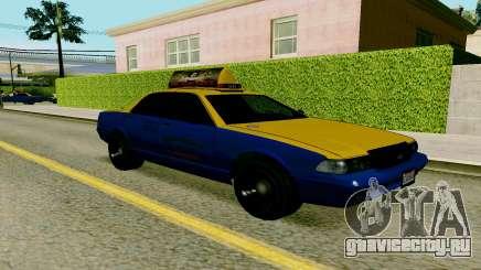 GTA V Taxi для GTA San Andreas