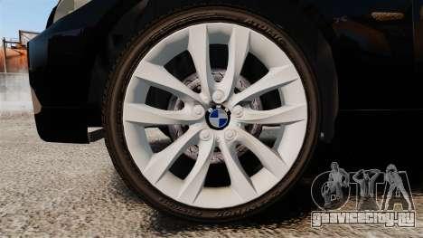 BMW 350i Japanese Police [ELS] для GTA 4 вид сзади