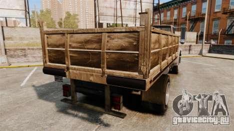 GTA IV TLAD Vapid Yankee для GTA 4 вид сзади слева