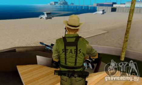 Resident Evil Apocalypse S.T.A.R.S. Sniper Skin для GTA San Andreas девятый скриншот