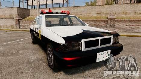 GTA SA Japanese Police Cruiser [ELS] для GTA 4