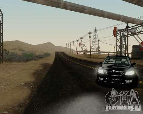 Skoda Octavia A7 для GTA San Andreas вид сзади слева