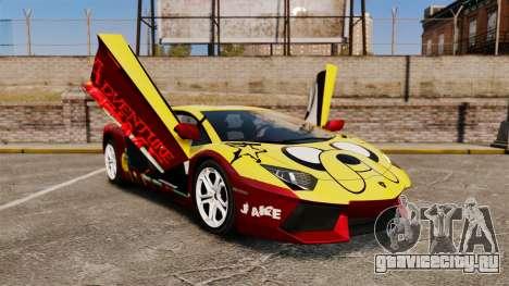 Lamborghini Aventador LP700-4 2012 [EPM] Jake для GTA 4 вид сверху
