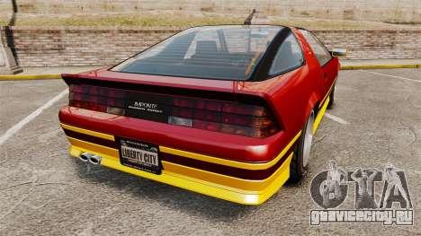 Imponte Ruiner new wheels для GTA 4 вид сзади слева