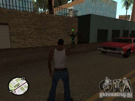 ProAim для GTA San Andreas второй скриншот