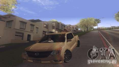 Mazda BT-50 Pro для GTA San Andreas