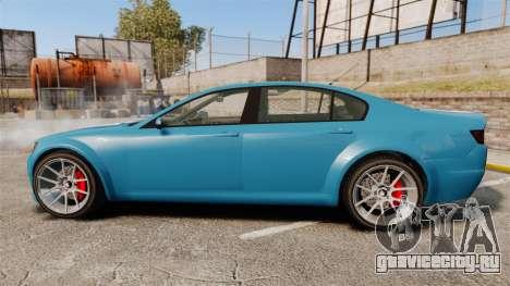 GTA V Cheval Fugitive new wheels для GTA 4 вид слева