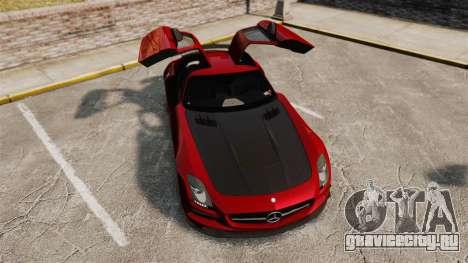 Mercedes-Benz SLS 2014 AMG GT Final Edition для GTA 4 вид сверху