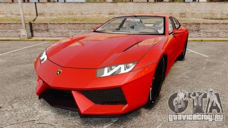 Lamborghini Estoque Concept 2008 для GTA 4