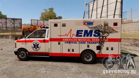 Brute Ambulance v2.1-SH для GTA 4 вид слева
