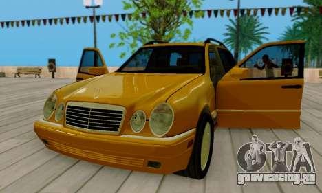 Mercedes-Benz E320 Wagon для GTA San Andreas вид сбоку