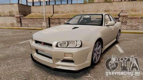 Nissan Skyline ER34 GT-R для GTA 4
