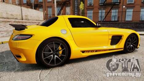Mercedes-Benz SLS 2014 AMG Performance Studio для GTA 4 вид слева