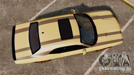 Dodge Challenger SRT8 2009 [EPM] APB Reloaded для GTA 4 вид справа