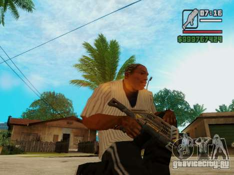 Защитник v.2 для GTA San Andreas третий скриншот