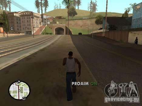 ProAim для GTA San Andreas