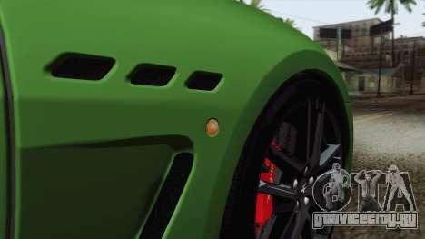 Maserati GranTurismo MC Stradale для GTA San Andreas салон