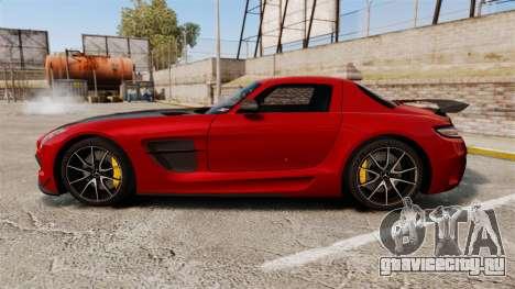 Mercedes-Benz SLS 2014 AMG GT Final Edition для GTA 4 вид слева