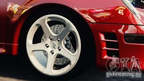 RUF CTR2 1995 для GTA 4 вид справа