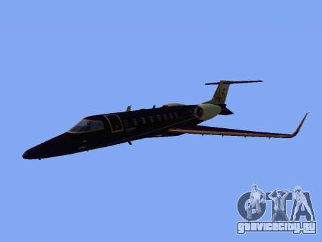 Bombardier Learjet 45 для GTA San Andreas вид слева