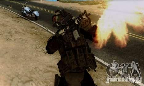 Kopassus Skin 2 для GTA San Andreas третий скриншот