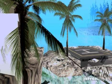 Новый остров V2.0 для GTA San Andreas второй скриншот