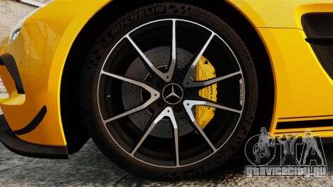 Mercedes-Benz SLS 2014 AMG Performance Studio для GTA 4 вид сзади