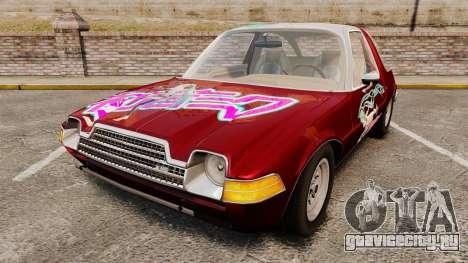 AMC Pacer 1977 v2.1 Miku для GTA 4