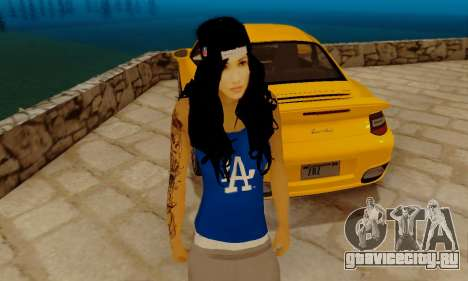 Ophelia v2 для GTA San Andreas