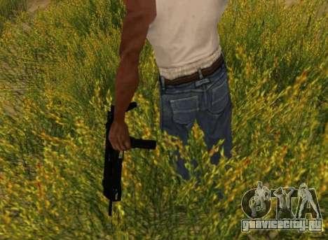 MP7 для GTA San Andreas пятый скриншот