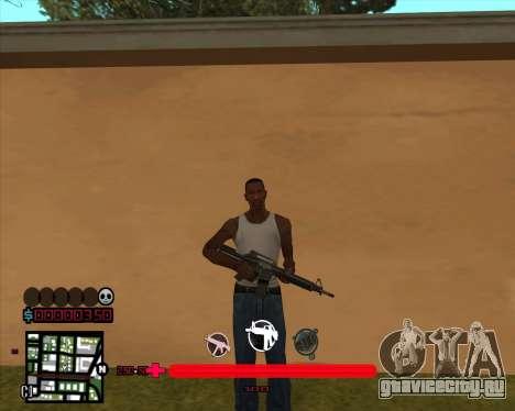 C-HUD by Mario_Nostra для GTA San Andreas
