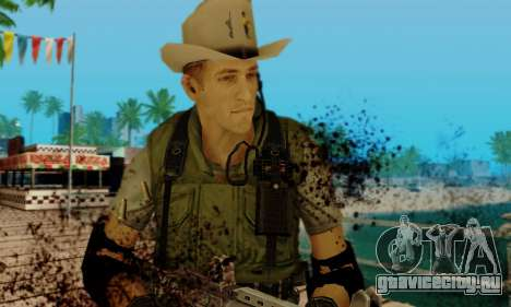 Resident Evil Apocalypse S.T.A.R.S. Sniper Skin для GTA San Andreas пятый скриншот