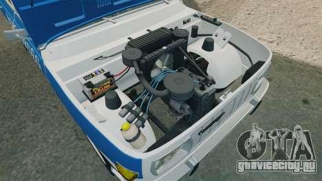 Wartburg 353w Deluxe Hungarian Police для GTA 4 вид сзади