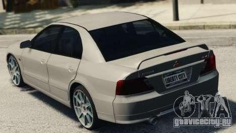 Mitsubishi Galant8 VR-4 для GTA 4 вид слева