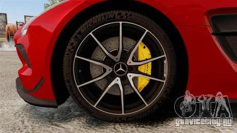 Mercedes-Benz SLS 2014 AMG GT Final Edition для GTA 4 вид сзади