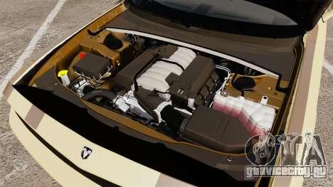 Dodge Challenger SRT8 2009 [EPM] APB Reloaded для GTA 4 вид изнутри