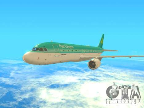 Airbus A320-200 Aer Lingus для GTA San Andreas